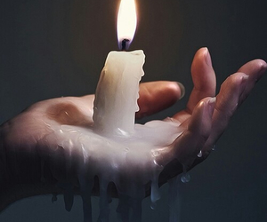alternative, flame, and nails image