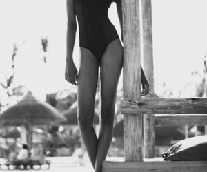 beauty, black and white, and body image