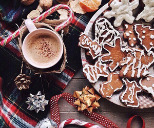 baking, biscuits, and coffee image