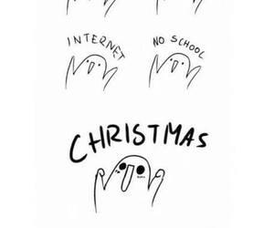 christmas, food, and sleep image