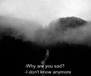 sad, grunge, and alone image