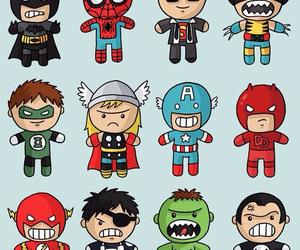 hero, batman, and thor image