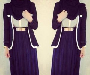 hijab and skirt image