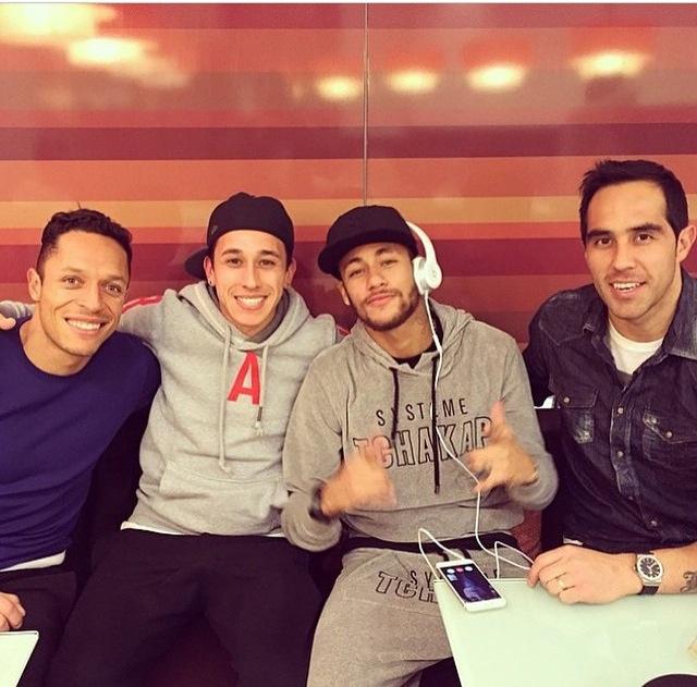 bravo, adriano, and neymar jr image