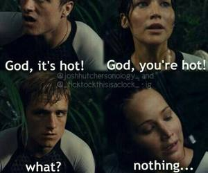 katniss, catching fire, and Hot image