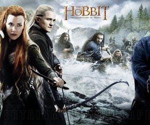 the hobbit, bilbo, and Legolas image