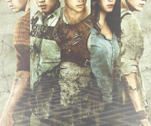 the maze runner, dylan o'brien, and KAYA SCODELARIO image