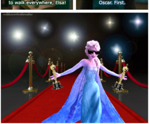 cool, frozen, and Queen image