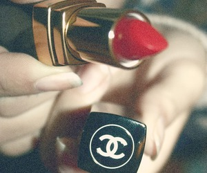 chanel, channel, and lips image