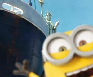 minions, bob, and new york image