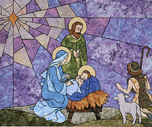 christmas, jesus, and joseph image