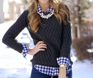 fashion, winter, and outfit image