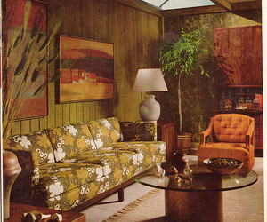 1960s, art, and house image