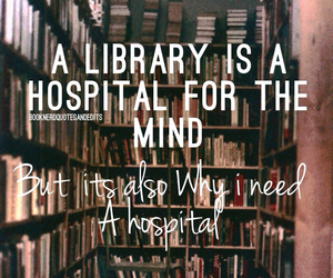 hospital and library image