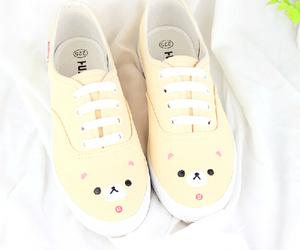 shoes, kawaii, and rilakkuma image
