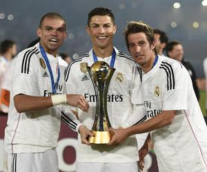 pepe, cristiano ronaldo, and real madrid image