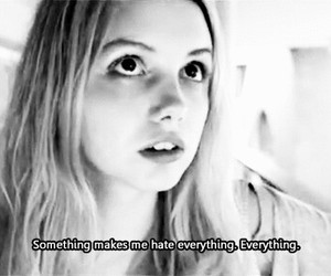 hate, cassie, and skins image