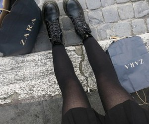 grunge, Zara, and black image