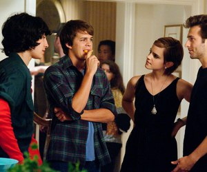 emma watson, the perks of being a wallflower, and ezra miller image