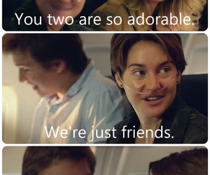 the fault in our stars, augustus waters, and shaileene woodley image