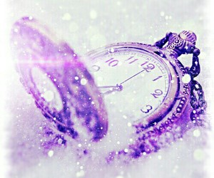 snow, watch, and winter image