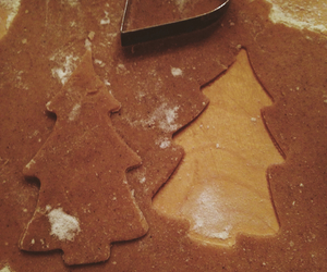 christmas, gingerbread, and heart image