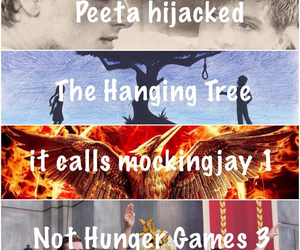 the hanging tree, not hunger games 3, and ️peeta hijaked image