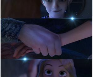 rapunzel, disney, and jack frost image
