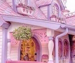 disney, pink, and fancy image