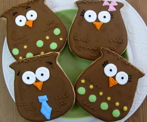 Cookies, owl, and sweets image