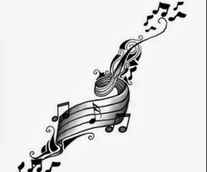 music and music notes image