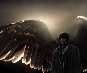 supernatural, castiel, and angel image