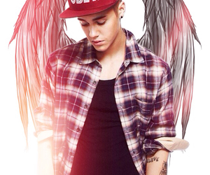 justin bieber and angel image