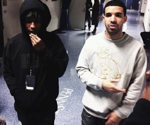 Drake, asap rocky, and ovo image