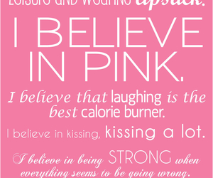 quote, pink, and kissing image