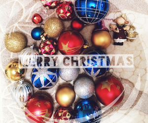 balloons, celebrate, and christmas image