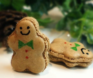 macaroons, christmas, and gingerbread image