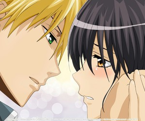 anime, kaichou wa maid sama, and kiss image