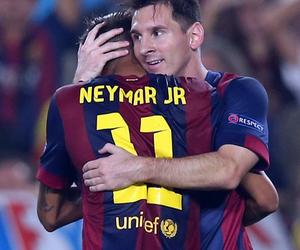 messi, Barca, and neymar image