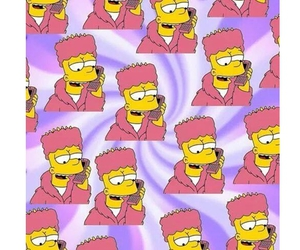 background, wallpaper, and bart simpson image