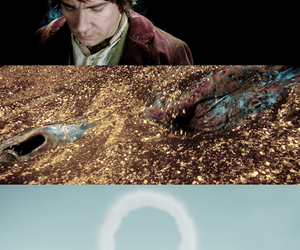bilbo, the hobbit, and smaug image
