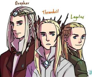 hobbit, Legolas, and LOTR image