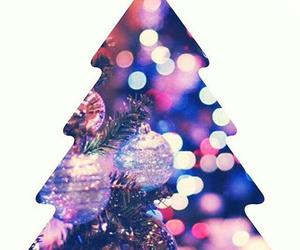 christmas, holiday, and lights image