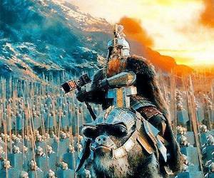 dwarf, hobbit, and the battle of five armies image