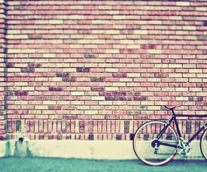 antique, bricks, and bicycle image