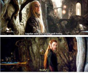 hobbit, rude, and mirkwood image