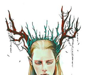 hobbit, thranduil, and king of mirkwood image