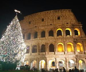 colosseo, happy new year, and italy image