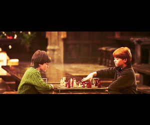 chess, hogwarts, and harry image
