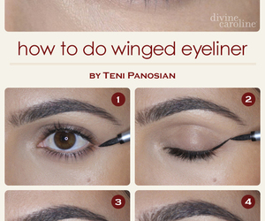 beauty, how to, and make up image